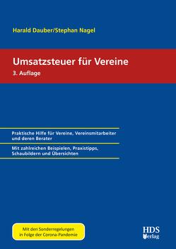 Umsatzsteuer für Vereine von Dauber,  Harald, Nagel,  Stephan