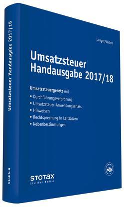 Umsatzsteuer Handausgabe 2017/18 von Langer,  Michael, Vellen,  Michael