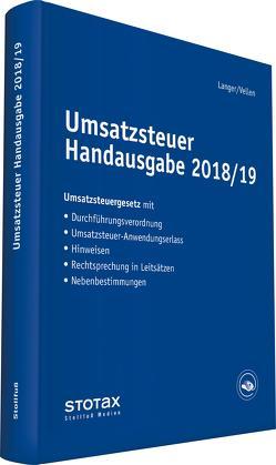 Umsatzsteuer Handausgabe 2018/19 von Langer,  Michael, Vellen,  Michael