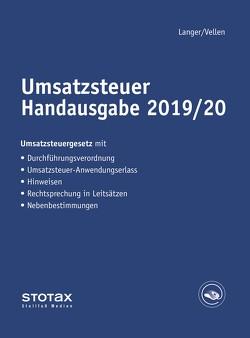 Umsatzsteuer Handausgabe 2019/20 von Langer,  Michael, Vellen,  Michael