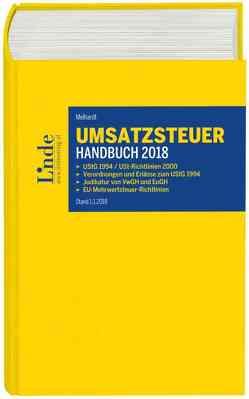 Umsatzsteuer-Handbuch 2018 von Melhardt,  Stefan