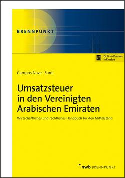 Umsatzsteuer in den Vereinigten Arabischen Emiraten von Campos Nave,  José, Sami,  Omar