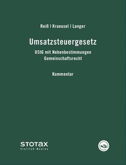 Umsatzsteuergesetz von Kraeusel,  Jörg, Langer,  Michael, Reiß,  Wolfgang