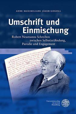 Umschrift und Einmischung von Jäger-Gogoll,  Anne Maximiliane