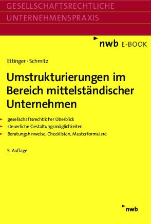 Umstrukturierungen im Bereich mittelständischer Unternehmen von Ettinger,  Jochen, Schmitz,  Markus