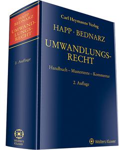 Umwandlungsrecht von Bednarz,  Sebastian, Happ,  Wilhelm