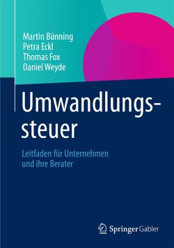 Umwandlungssteuer von Bünning,  Martin, Eckl,  Petra, Fox,  Thomas, Weyde,  Daniel