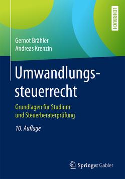 Umwandlungssteuerrecht von Brähler,  Gernot, Krenzin,  Andreas