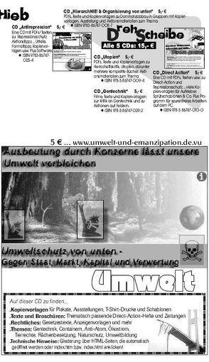 Umwelt CD von Bergstedt,  Jörg