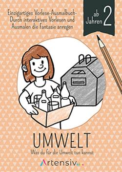 Umwelt – Malbuch ab 2 Jahren von Schulz,  Sönke