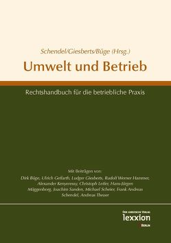 Umwelt und Betrieb von Büge,  Dirk, Giesberts,  Ludger, Schendel,  Frank Andreas