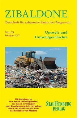 Umwelt und Umweltgeschichte von Bremer,  Thomas, Harth,  Helene, Heydenreich,  Titus, Winkler,  Daniel