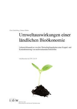 Umweltauswirkungen einer ländlichen Bioökonomie von Bluhm,  Hannes, Dunkelberg,  Elisa