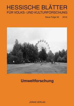 Umweltforschung von Becker,  Siegfried, Windmüller,  Sonja