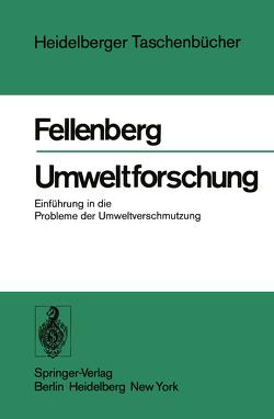 Umweltforschung von Fellenberg,  G.
