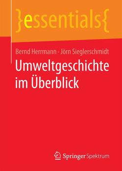 Umweltgeschichte im Überblick von Herrmann,  Bernd, Sieglerschmidt,  Jörn