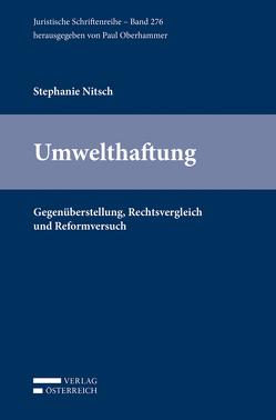 Umwelthaftung von Nitsch,  Stephanie
