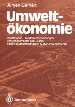 Umweltökonomie von Gernert,  Jürgen