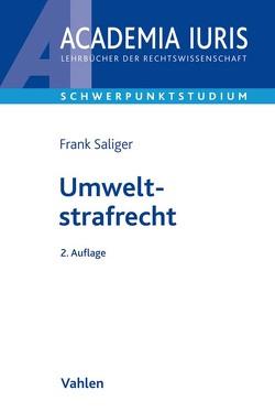 Umweltstrafrecht von Saliger,  Frank