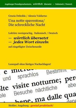 Una notte spaventosa /Die schreckliche Nacht von Deledda,  Grazia, Holder,  Harald, Valdarno,  Alessia