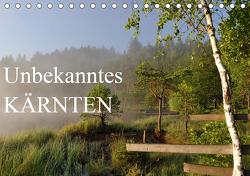 Unbekanntes KärntenAT-Version (Tischkalender 2021 DIN A5 quer) von Straßburg,  Burkhard