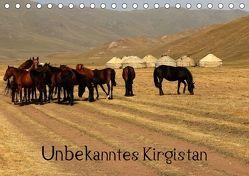 Unbekanntes Kirgistan (Tischkalender 2018 DIN A5 quer) von Becker,  Bernd