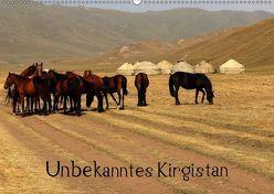 Unbekanntes Kirgistan (Wandkalender 2019 DIN A2 quer) von Becker,  Bernd
