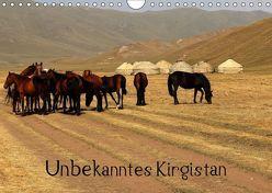 Unbekanntes Kirgistan (Wandkalender 2019 DIN A4 quer) von Becker,  Bernd