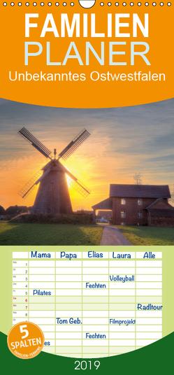 Unbekanntes Ostwestfalen – Familienplaner hoch (Wandkalender 2019 , 21 cm x 45 cm, hoch) von Blavandmaster