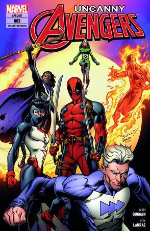 Uncanny Avengers von Duggan,  Gerry, Stegman,  Ryan, Strittmatter,  Michael