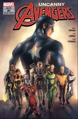 Uncanny Avengers von Duggan,  Gerry, Larraz,  Pepe, Stegman,  Ryan, Strittmatter,  Michael