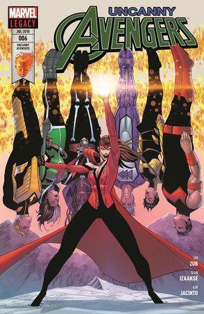 Uncanny Avengers von Izaakse,  Sean, Jacinto,  Kim, Lindsay,  Jahnoy, Ramirez,  Juanan, Strittmatter,  Michael, Zubkavich,  Jim