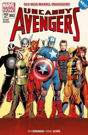 Uncanny Avengers – Marvel Now! von Acuna,  Daniel, Remender,  Rick