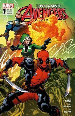 Uncanny Avengers von Duggan,  Gerry, Stegman,  Ryan David
