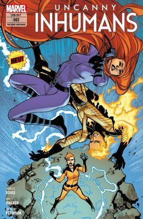 Uncanny Inhumans von Peterson,  Brandon, Soule,  Charles D.