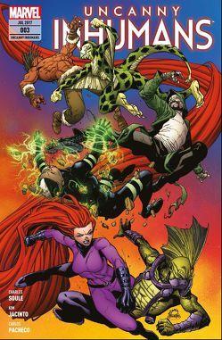 Uncanny Inhumans von Jacinto,  Kim, Odenthal,  Horus W., Pacheco,  Carlos, Soule,  Charles D., Walker,  Kev