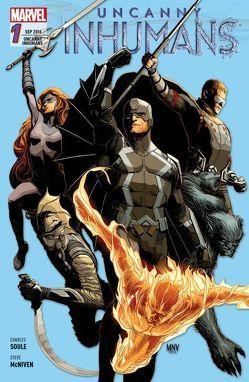 Uncanny Inhumans von McNiven,  Steve, Odenthal,  Horus W., Peterson,  Brandon, Soule,  Charles
