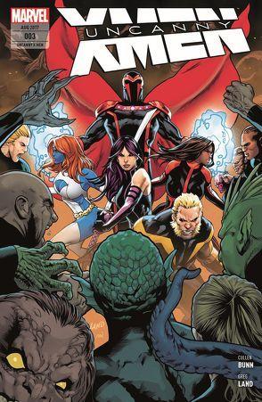 Uncanny X-Men von Bunn,  Cullen, Land,  Greg, Petz,  Jürgen, Roberson,  Ibraim