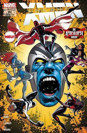 Uncanny X-Men von Bunn,  Cullen, Lashley,  Ken, Medina,  Paco, Petz,  Jürgen