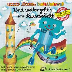 Und weiter geht's im Sauseschritt. Lern-Spiel-Spasslieder von Jöcker,  Detlev, Kleikamp,  Lore