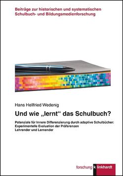"""Und wie """"lernt"""" das Schulbuch? von Wedenig,  Hans Hellfried"""