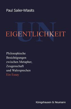Uneigentlichkeit von Sailer-Wlasits,  Paul