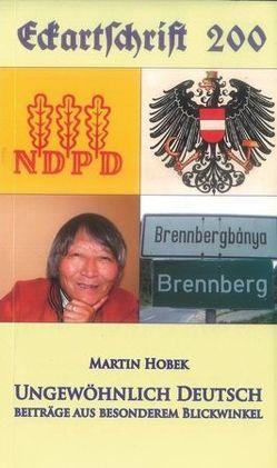 Ungewöhnlich Deutsch von Hobek,  Martin