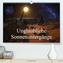 Unglaubliche Sonnenuntergänge (Premium, hochwertiger DIN A2 Wandkalender 2021, Kunstdruck in Hochglanz) von Gaymard,  Alain