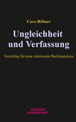 Ungleichheit und Verfassung von Röhner,  Cara