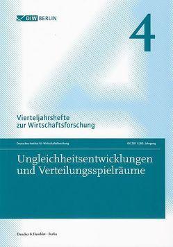 Ungleichheitsentwicklungen und Verteilungsspielräume. von Deutsches Institut für Wirtschaftsforschung
