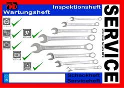 Universal KFZ Inspektionsheft Serviceheft Wartungsheft Scheckheft von Sültz,  Uwe H.