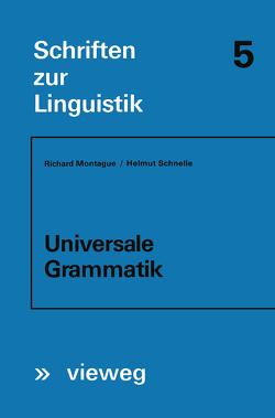 Universale Grammatik von Montague,  Richard