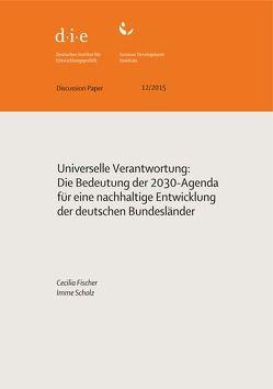 Universelle Verantwortung von Fischer,  Cecilia, Scholz,  Imme