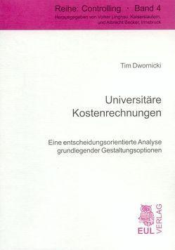 Universitäre Kostenrechnungen von Dwornicki,  Tim